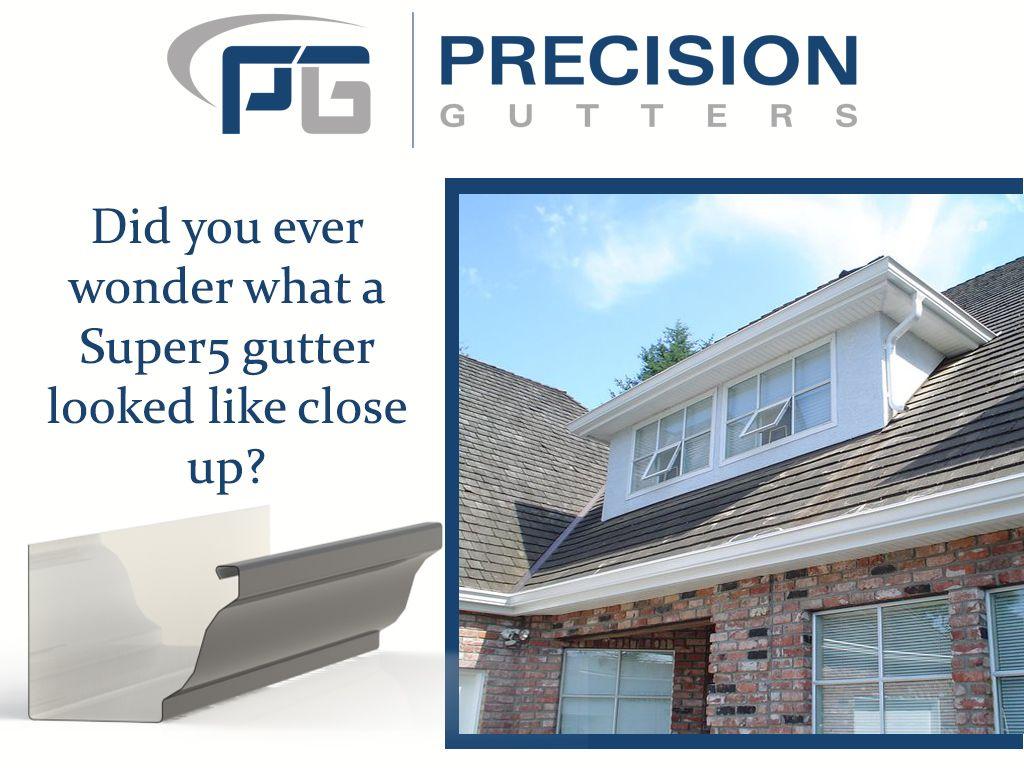 Super 5 Aluminum Gutter Profile Gutters Downspout Gutter