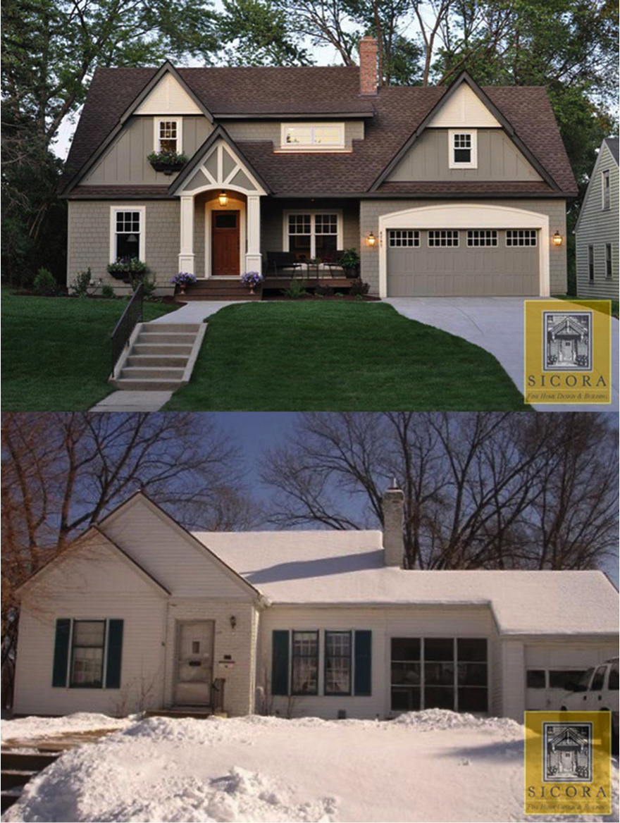 Home Exterior Renovation Before And After Before And After Cottage Makeover  Home Design Cottages And Mores
