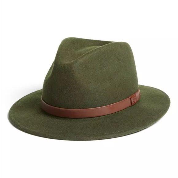 a51ed5593a1f0 Brixton Fedora Hunter Green.. I have this bnwot Brixton Fedora in xl Brixton  Accessories Hats