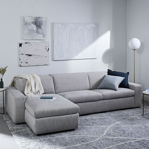 Enzo Full Sleep Store 3 Seater Sectional Most Comfortable Sofa Bed Living Room Decor Gray Most Comfortable Couch