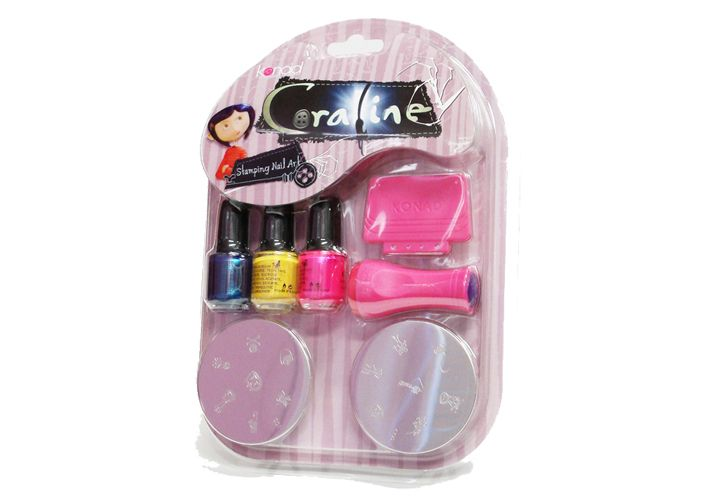 Coraline Stamping Nail Art Kit I Birthday Wishlist Christmas