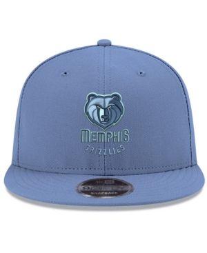 super cute b0292 fddaf New Era Memphis Grizzlies Basic Link 9FIFTY Snapback Cap - Blue Adjustable
