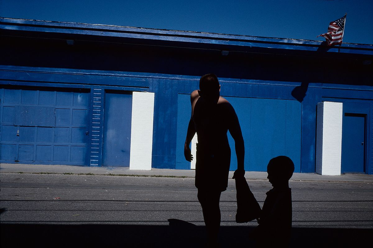 Constantine Manos American Color Salisbury BeachPhotographer