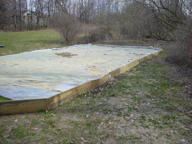 DIY Backyard Ice Rink - I want to say now, if winter ...