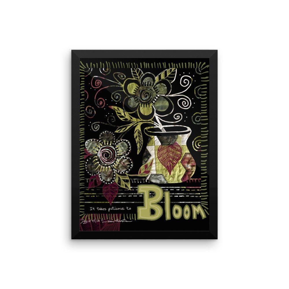 Bloom - Framed poster