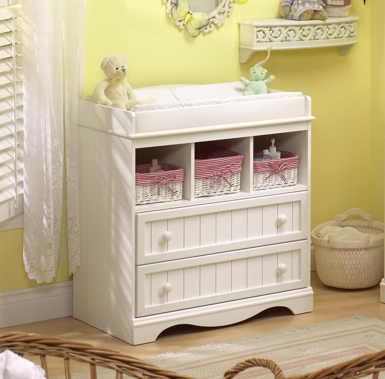On Order - Savannah Changing Table from South Shore - White