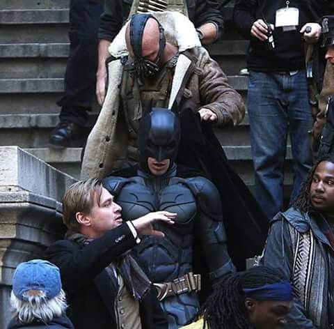 Tom Hardy Dark Knight Rises Behind The Scenes