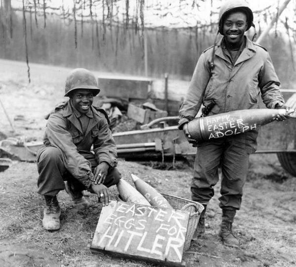 Easter eggs for Hitler.
