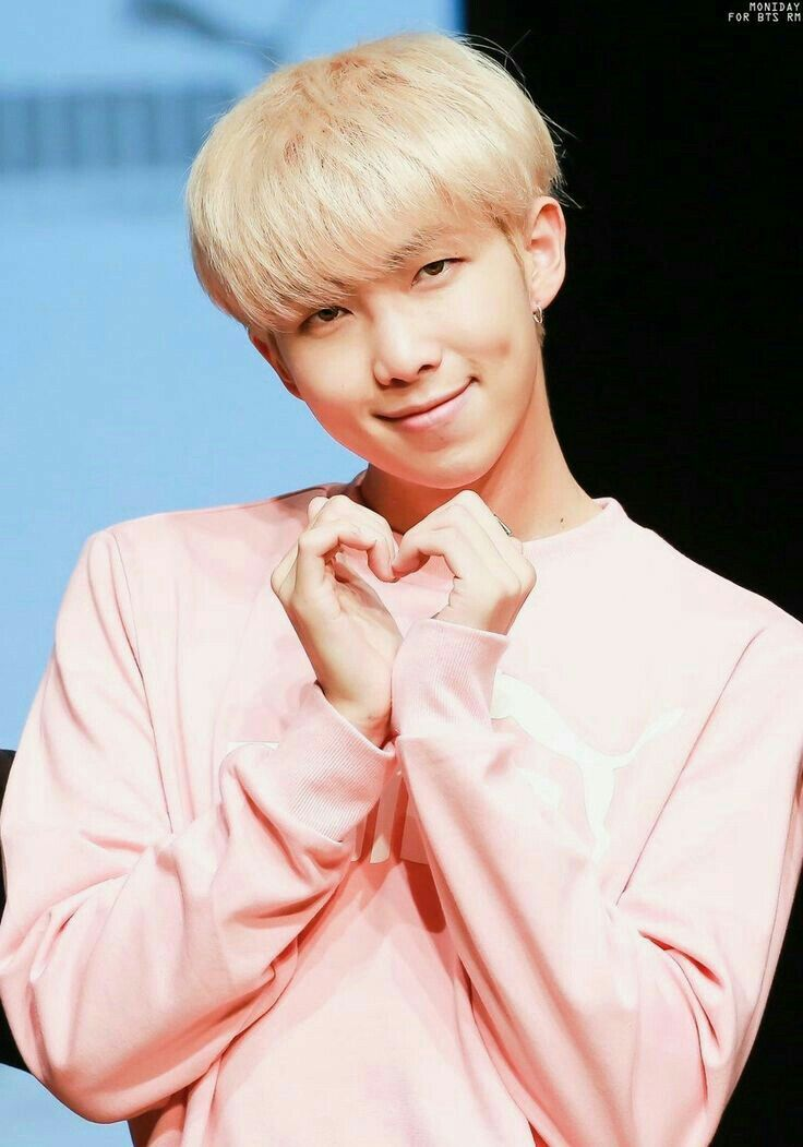 BTS ♡ Rap Monster cute heart ♡ | BTS in 2019 | Namjoon ...