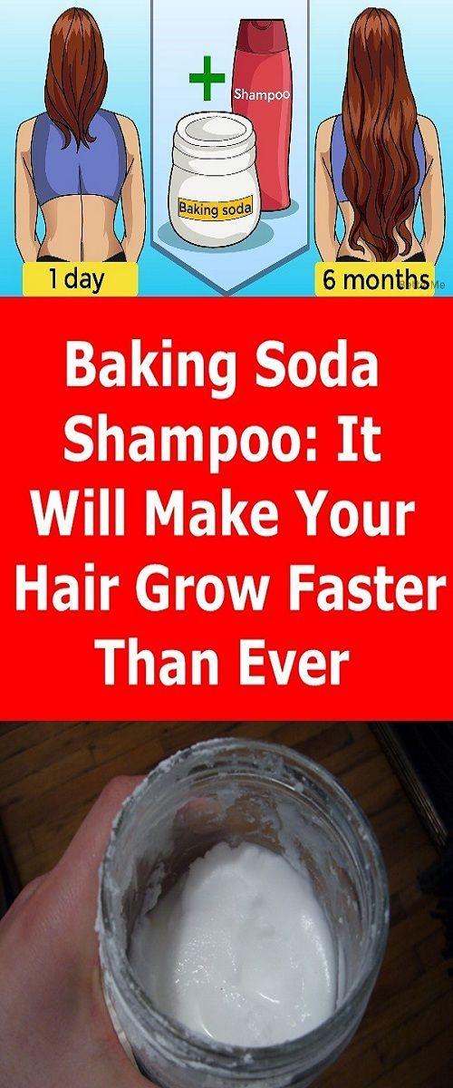 Baking Soda Shampoo: It Will Make Your Hair Grow Like It