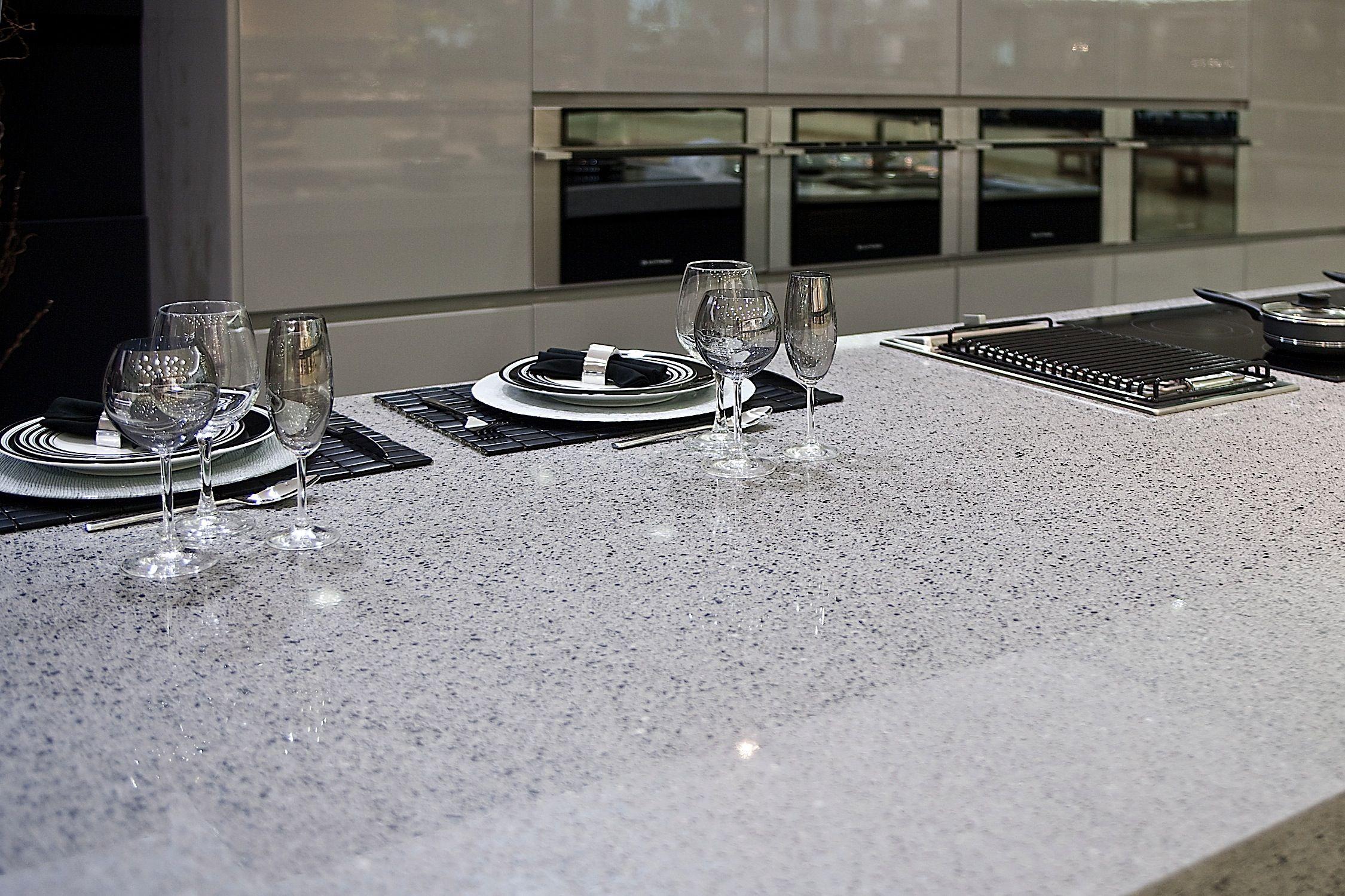 Plan De Travail Chrome silestone chrome | comptoir quartz, comptoir cuisine, plan