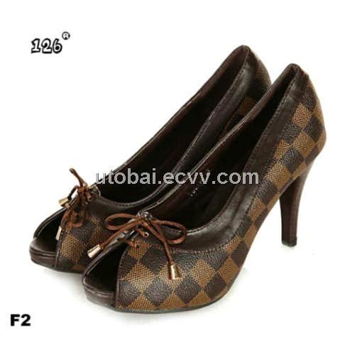 6b5e3905dff Brand LV Lady high-heel dress shoe flat shoe ladies flat shoe louis vuitton AAA  quality - China lady dress shoe lady shoe ladies shoe