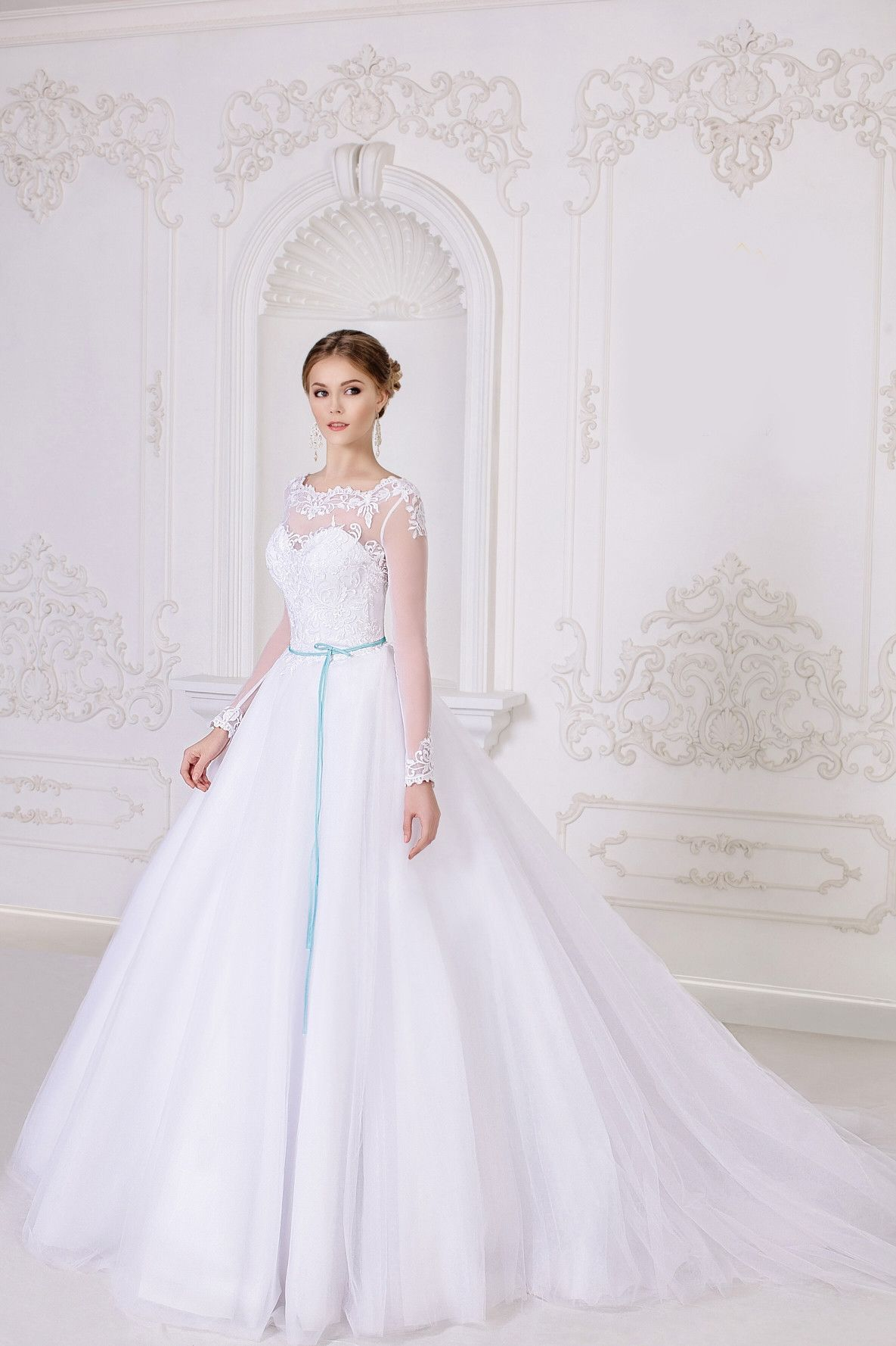 Wedding dresses ball gown lace  Ball Gown Tulle Wedding Dress  Wedding Dresses  Pinterest  Ball