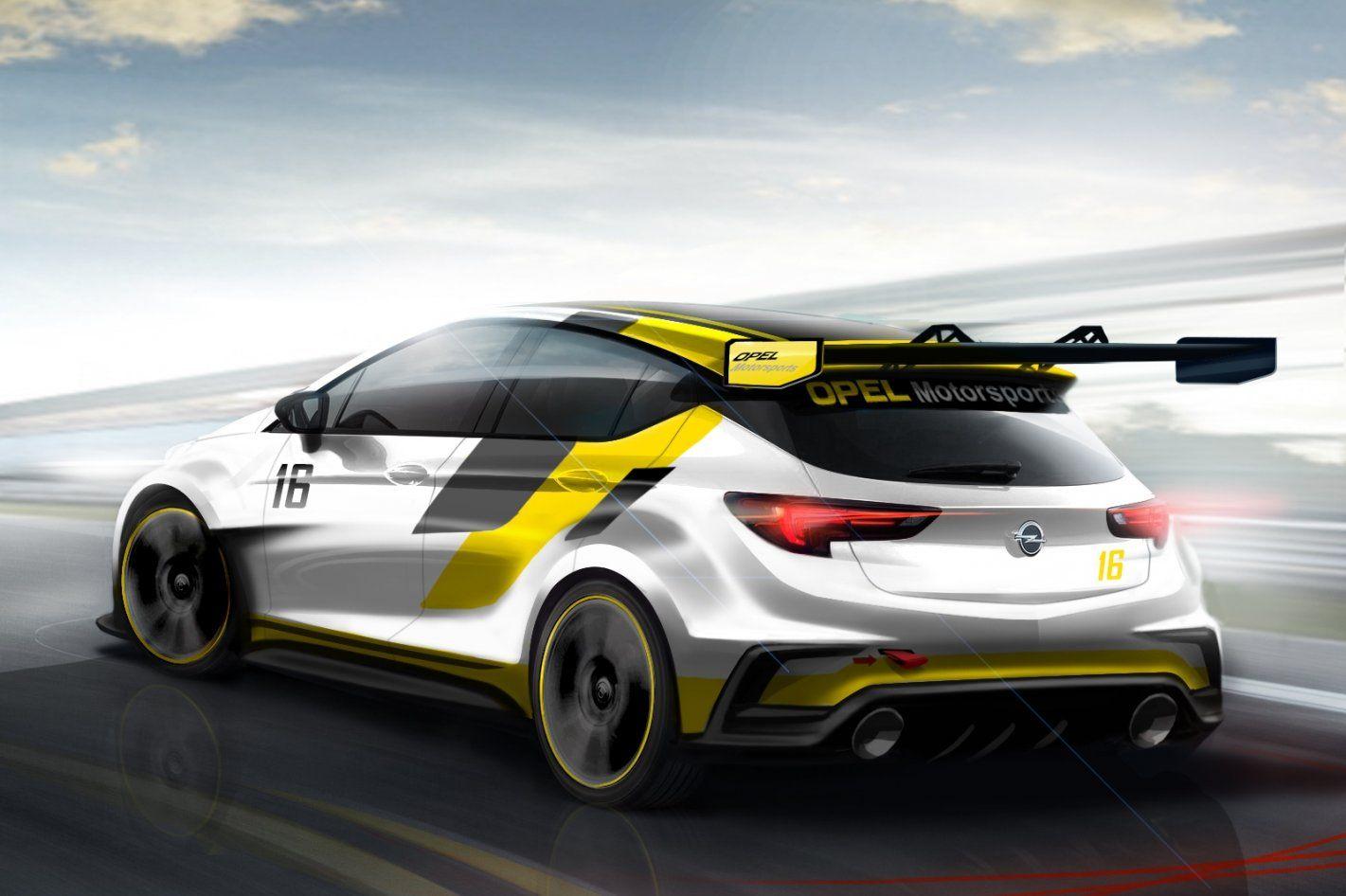 Opel ontwikkelt nu al raceversie van nieuwe Astra