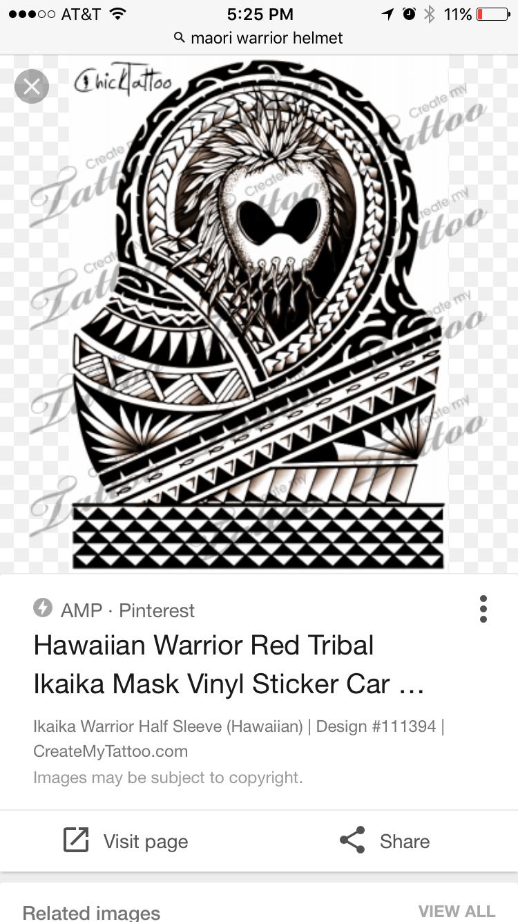 Pin By Kyle Ahsing On Maroi Stuff Red Tribal Hawiian Warrior Helmet [ 1334 x 750 Pixel ]