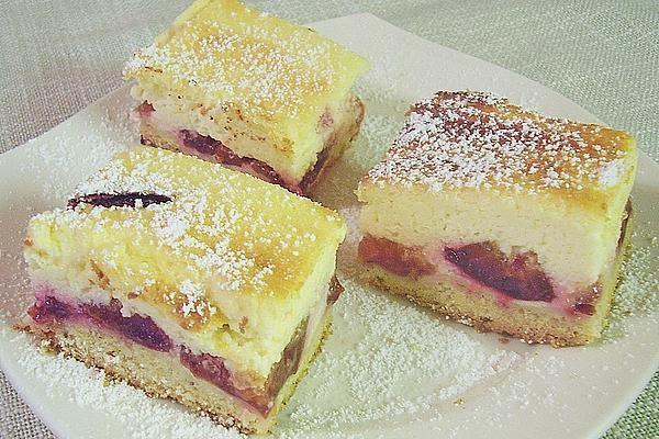 Zwetschkenkuchen mit Topfenguss von mima53 | Chefkoch