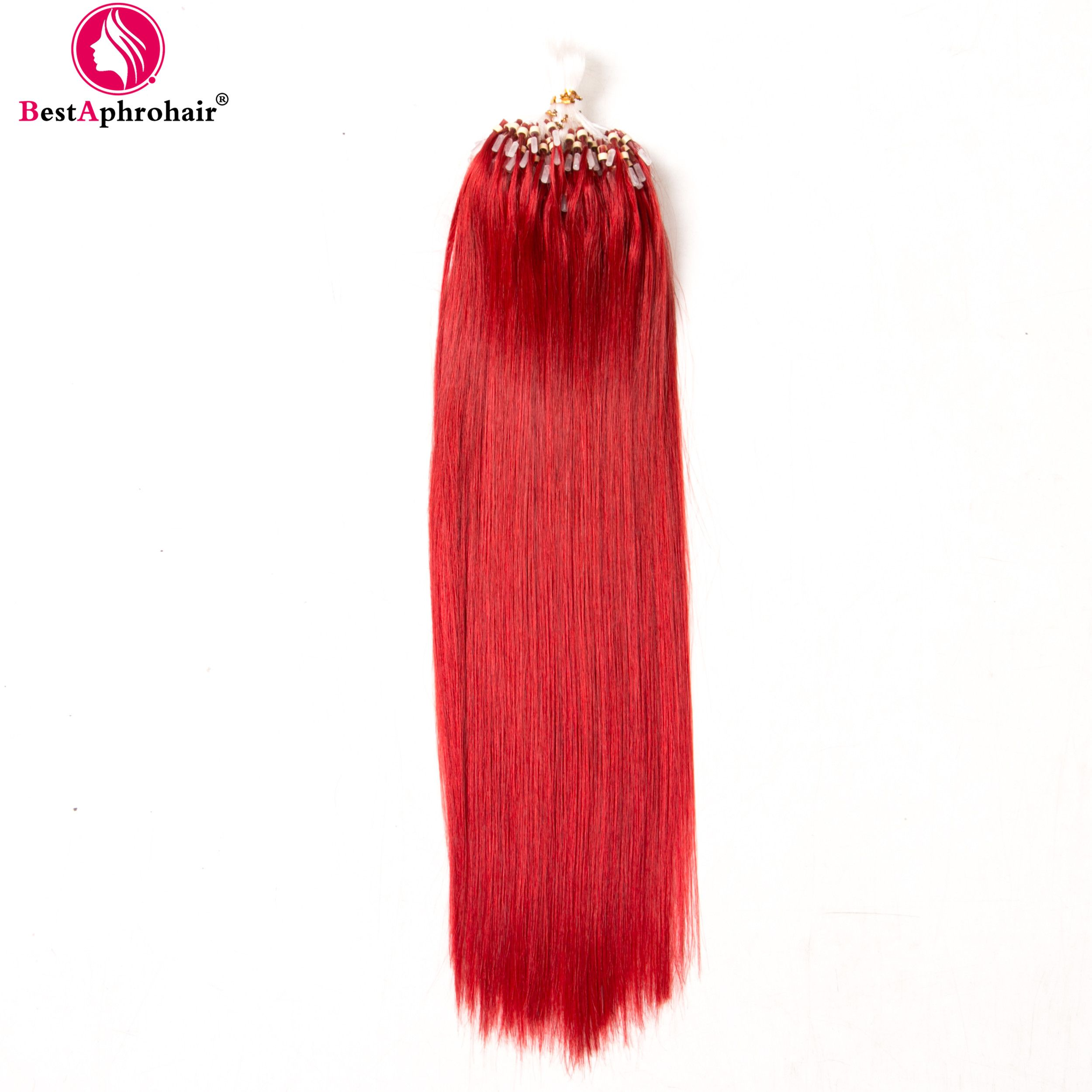 Bestaphrohair Micro Loop Ring Links Human Hair Extensions 05gs 200
