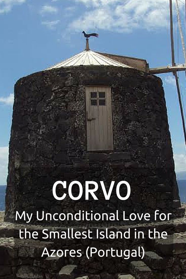 Corvo Island is one of the 3 islands in the Azores classified as UNESCO Biosphere Reserve. There is a quietness to Corvo  that I haven't yet found elsewhere.