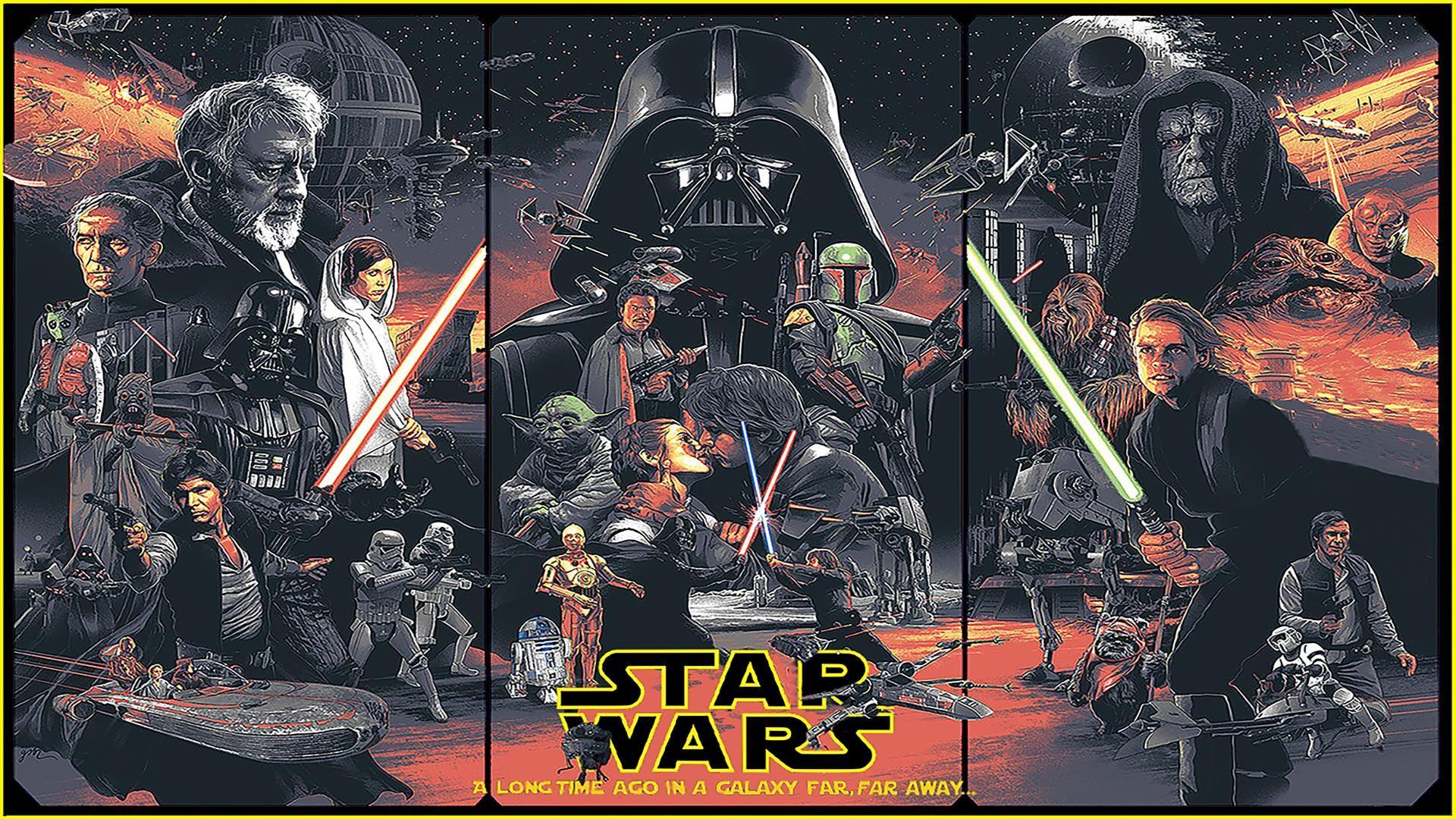 Star Wars Trilogy [1920×1080] 4K