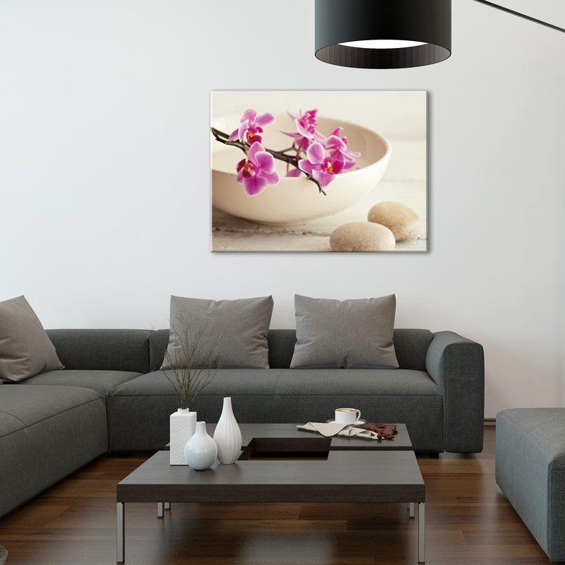 ouvrez votre d coration int rieur la pl nitude zen galets et fleurs d 39 orchid e dans un. Black Bedroom Furniture Sets. Home Design Ideas