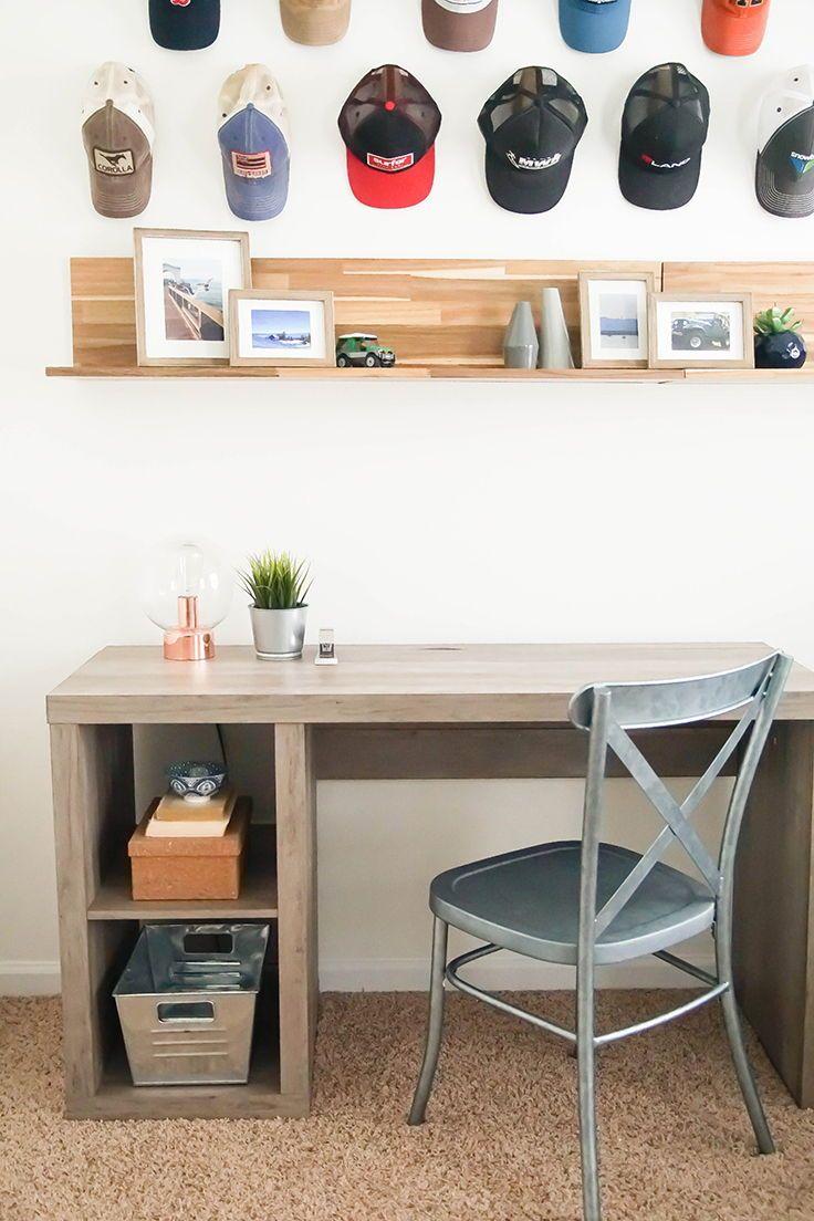 Home rustic office decor office desk office decor