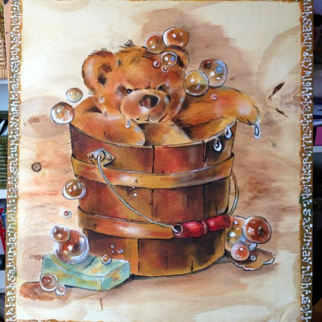artist shirley wilson | ... Jean Myers and Shirley Wilson book Acrylic on wood by Sheila Horrocks