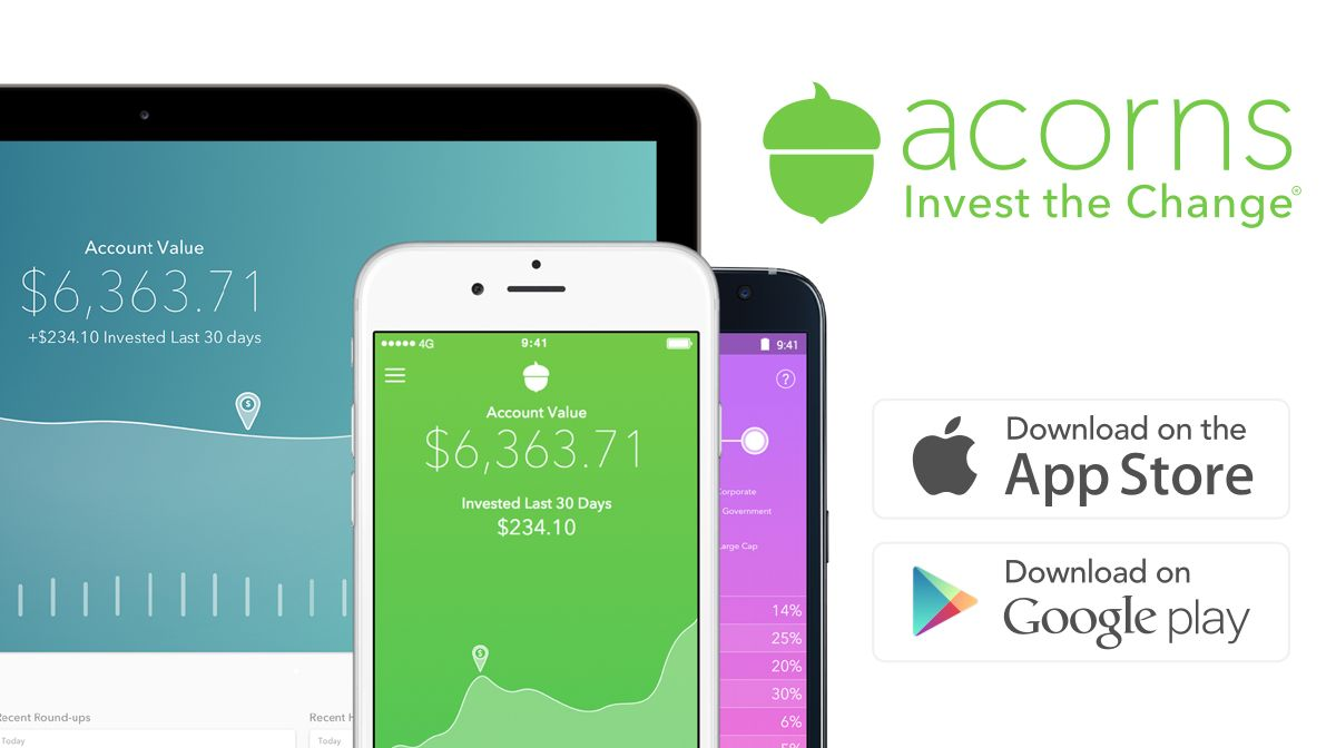 Invest spare change automatically from everyday purchases