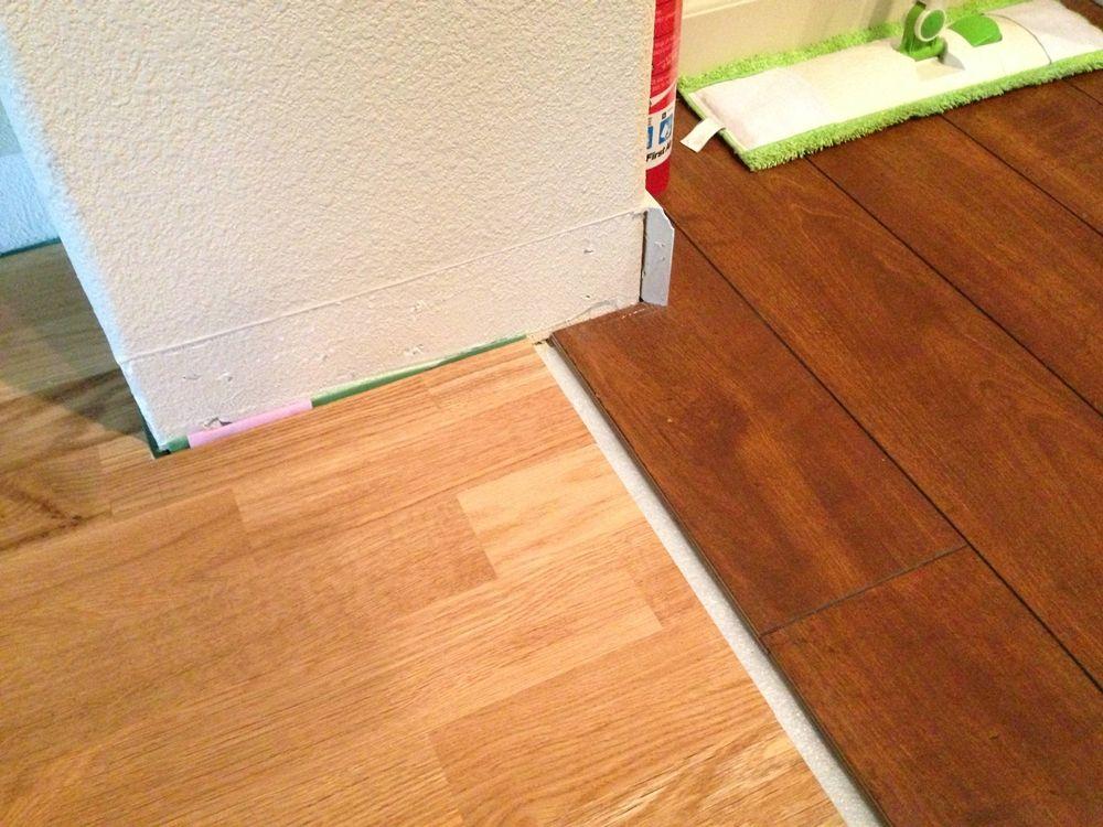 Installing Strip Of Laminate Flooring Transition Httpfloor