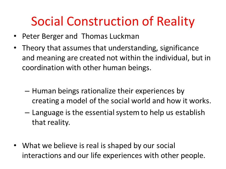 Image Result For Social Constructionism With Images Community