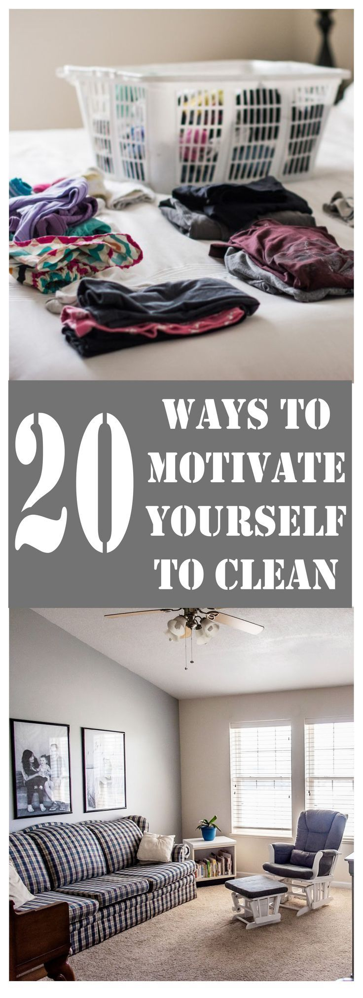 how to get motivated to clean and organize