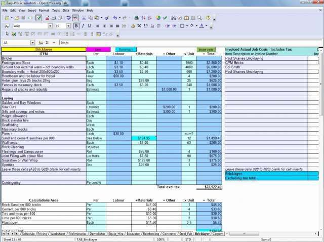 Bathroom Remodel Bud Spreadsheet Program Remodel Cost Calculator