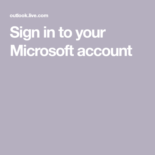 Sign In To Your Microsoft Account Microsoft Powerpoint Word Vsco Pictures