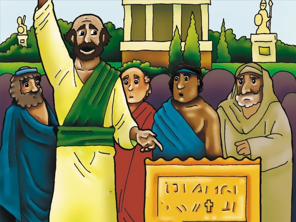 Free Visuals Pauls Attitude Of Service To Jesus Is Shown At Lystra Athens And