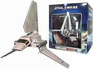 RARE Star wars Saga Imperial Shuttle Tydirium Vehicle Boxed New..