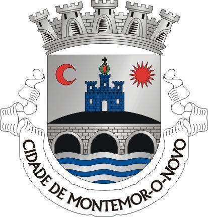 Montemor O Novo Brasao De Armas Bandeira De Portugal