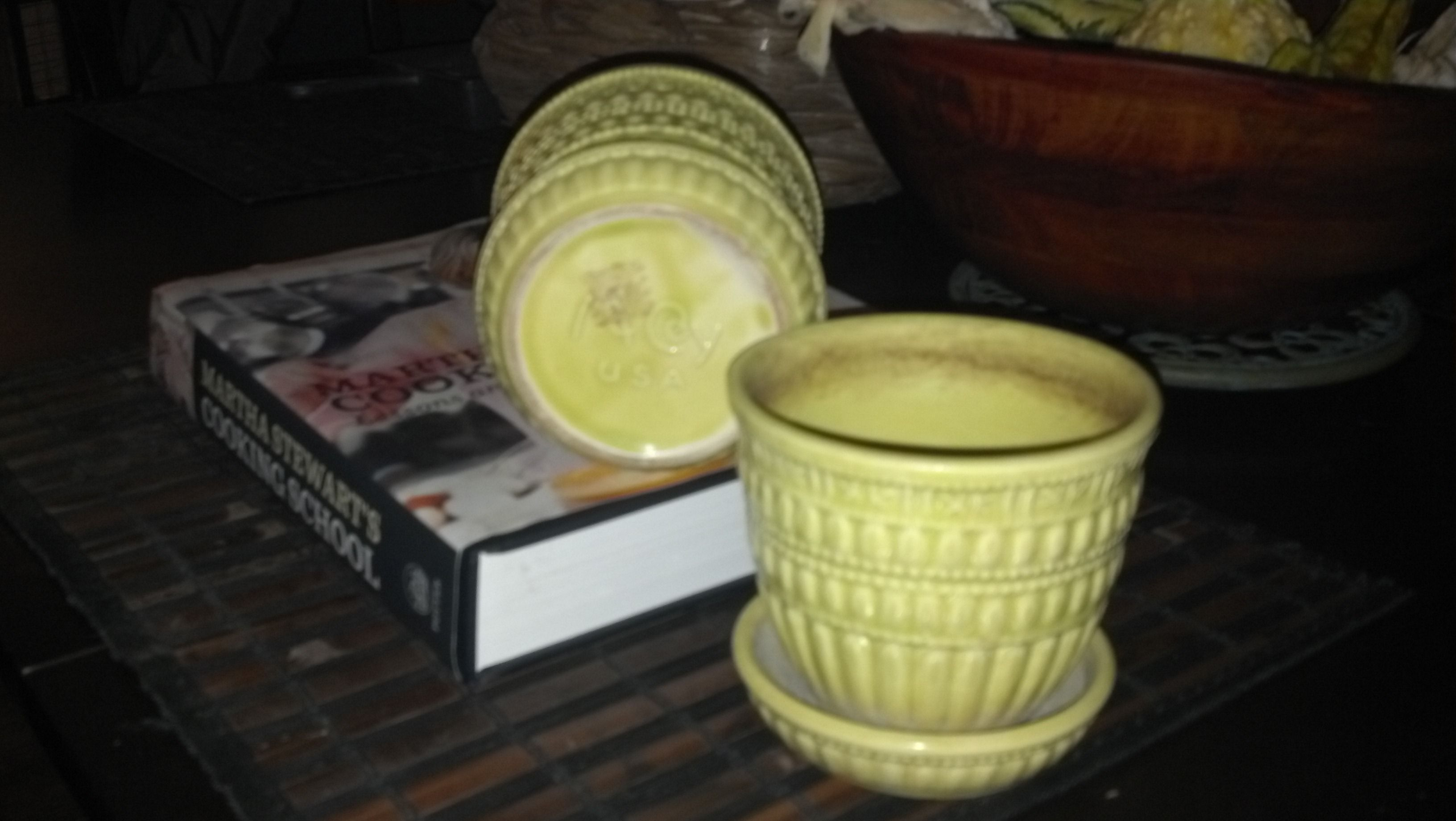 Antique find, McCoy Pottery!  ... Uploaded with Pinterest Android app. Get it here: http://bit.ly/w38r4m