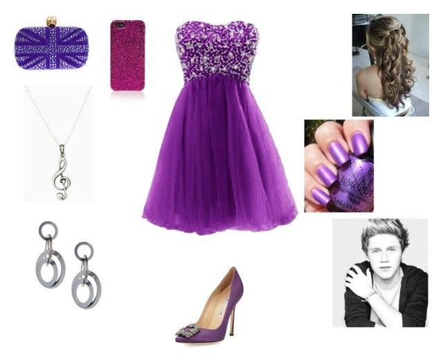 Prom with Niall by harrystylesandliampayne on Polyvore featuring mode, Manolo Blahnik, Alexander McQueen and Yves Saint Laurent