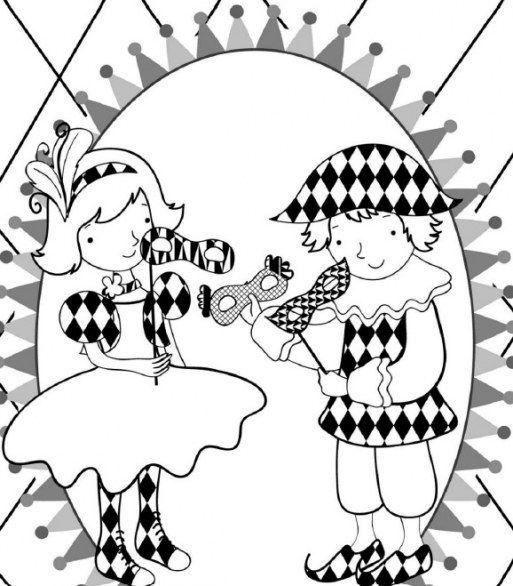 Maschere-tradizionali-di-carnevale-arlecchino