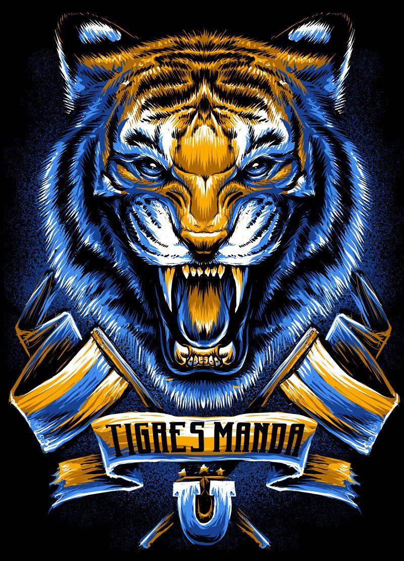 x Tigres UANL on Behance … (Dengan gambar
