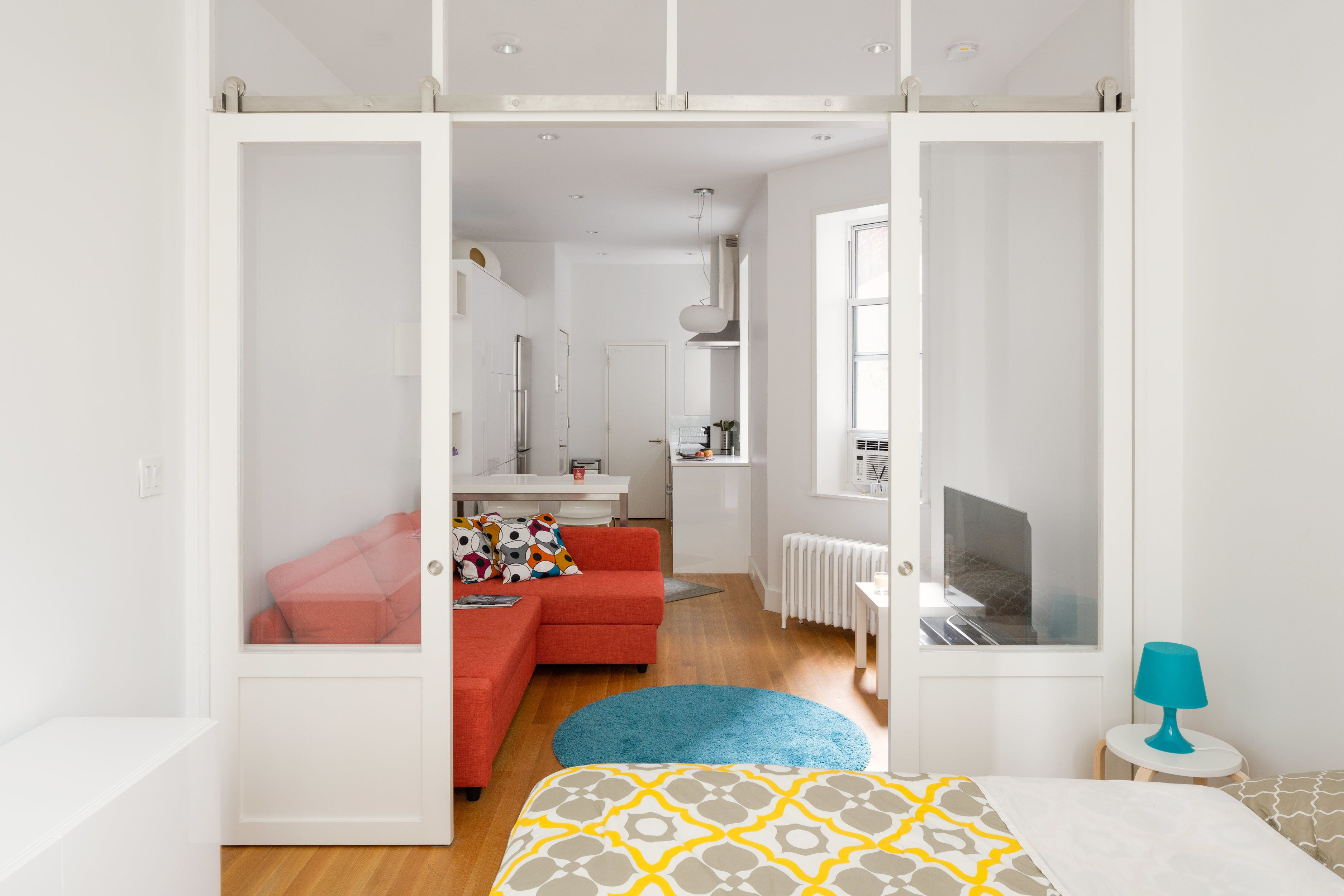 This 390 Square Foot Renovation Is pact Yet fortable in