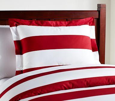 Pin By Elizabeth White On Boy Mom Bedroom Ideas Striped Duvet Covers Kids Duvet Cover Striped Duvet