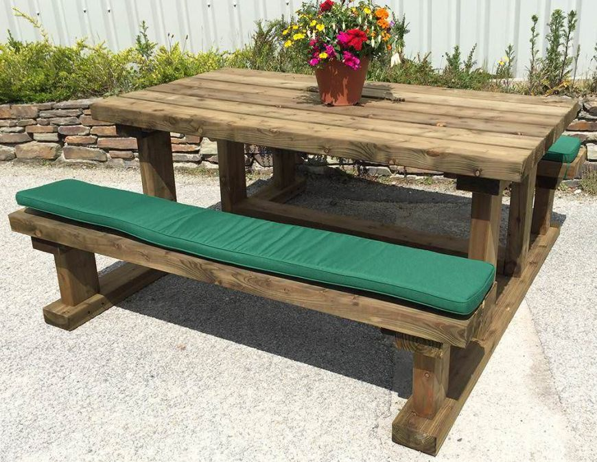 180cm Picnic Bench Cushion In 2020 Picnic Bench Picnic Table Bench Bench Cushions