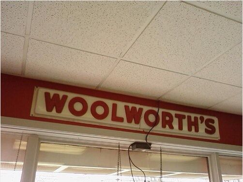 Who didn't love Woolworths?