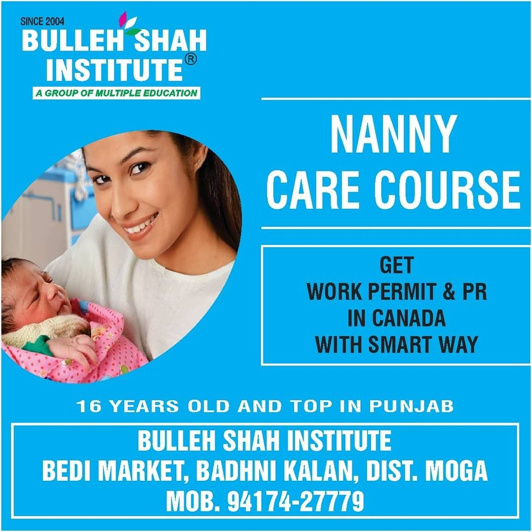 Do Nanny Care Course Get Canada Work Permit Pr Job Letter