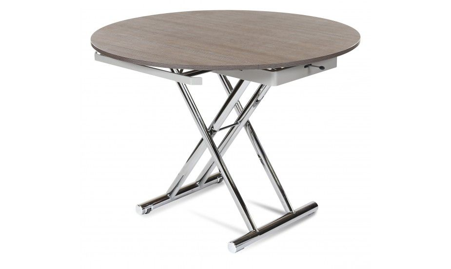 Redondo Table Ronde Table Basse Reglable Table Basse Relevable Table Basse