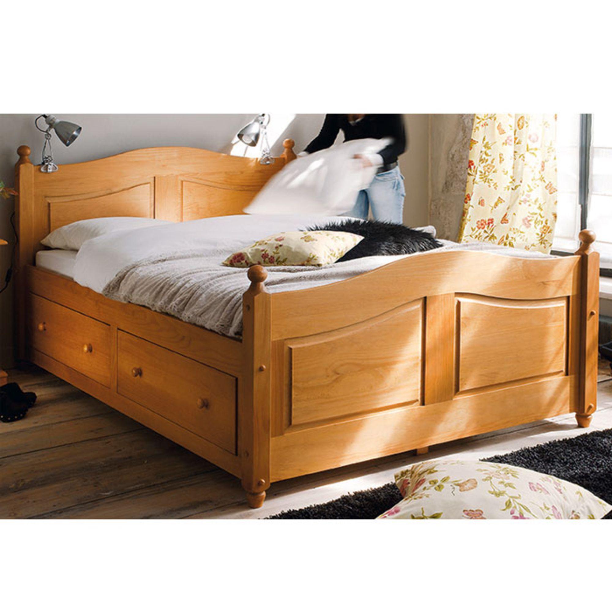 lit adulte lit enfant lit 160 x 200 cm tiroirs norman miel la maison de valrie - Lit 160x200