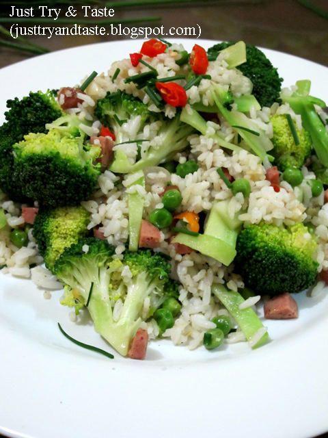 Resep Nasi Goreng Brokoli Brokoli Tumis Makanan