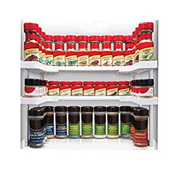 Edenware Spice Rack And Stackable Shelf Fascinating Edenware Spice Rack And Stackable Shelf  Organization Ideas Decorating Design