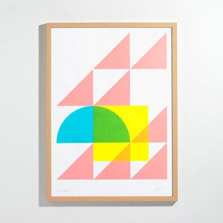 Geometry Pastel Print | Unison