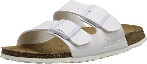 2497af16710b Betula Licensed by Birkenstock Womens Boogie White Sandal 39 US Womens 885 B  M     Find out more about the great product at the image link.